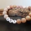Bracelet pierre de soleil personnalisable JOY